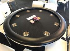 "52"" POKER TABLE - ""PREMIUM"" BLACK SUITED"