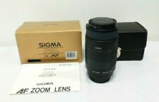 Sigma DL AF 75-300mm F/4-5.6 Interchangeable Multi-Coated Lens - Camera Fitting