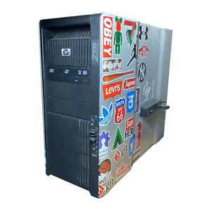 HP Z800 / 2 x Xeon X5670 2.93GHz /192GB RAM/ 2x250GB SSD/ 2x3TB HDD/NVIDIA K2000