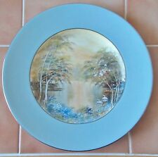 ROYAL WORCESTER Bone China CYNTHIA Unique Hand-painted PLATE - Diameter 10.5""