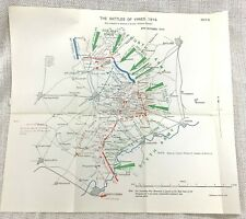 More details for the battle of ypres france ww1 1914 british military map operational plan attack