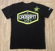 Reebok CrossFit Forging Elite Fitness Shirt ~ Men's Small S ~ Black Neon SS