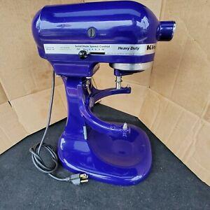 KitchenAid Heavy Duty Stand Mixer Lift Bowl Blue cobalt NO Attachments KSM5BBU