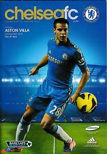 Football Programme>CHELSEA v ASTON VILLA Dec 2012