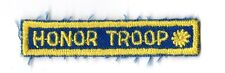 Honor Troop Blue Bar Rocker Kaw Valley~Girl Scouts Fun Patch Badge