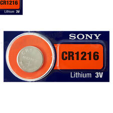 1 x SONY Lithium CR1216 battery 3V Coin Cell DL1216 KRC1216 Watch