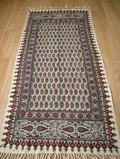 Persian ghalamkar handmade hand print tapestry tablecloth runner calico fine art