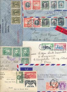 Briefe Amerika 48 Briefe , siehe 8 Bilder