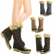 Women's Medium (B, M) Snow, Winter Boots Solid Rubber Shoes