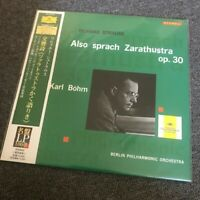 Karl Bohm Strauss Also Sprach Zarathustra Japanese Import 200G LP100 UCJG-9004