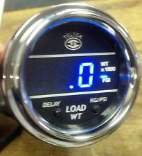 PETERBILT BLUE TELTEK LOAD WEIGHT GAUGE VOLVO FREIGHTLINER IN KILOGRAMS 211KG