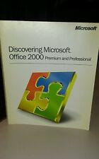 Microsoft - Discovering Microsoft Office 2000 Premium and Professional Book Used