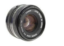 CANON 50mm f/1.8 Canon FD Mount Camera Lens - E37