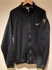 Kobe Bryant Nike Track Jacket L, BLACK MAMBA YELLOW LOGO, Vintage Nike Vtg OG 🔥