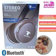 Auriculares bluetooth inalámbricos cascos diadema para Android y iPhone