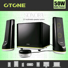 OTONE Sonora Computer Gaming 2.1 Subwoofer Multimedia 50W Stereo Speaker System