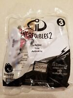 NEW 2018 McDonalds Happy Meal Toy Incredibles 2 #3 DASH NIP FREE SHIPPING