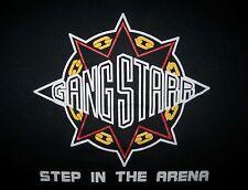 NOS 1991 GANG STARR Step in the Arena T-shirt vintage 90s hip hop dj premier XL