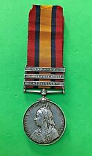 QUEEN'S SOUTH AFRICA MEDAL + PAPERS - 1st KING'S DRAGOON GUARDS