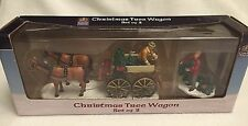 LEMAX Carole Towne CHRISTMAS TREE WAGON Victorian Village (New in Box)