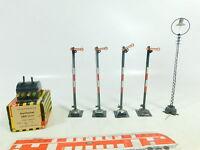 BH681-0,5# TRIX Express H0 4x Hand-Signale + Laterne+Stellhebel 585 (20/30)