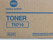 NEW GENUINE KONICA MINOLTA TN710 BLACK TONER BIZHUB 600/601/750/751