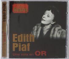 EDITH PIAF Une voix en Or 20-track CD Album compilation * Collection retro * NEW