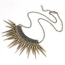 SPIKE CHOKER NECKLACE Tribal Boho Ethnic Jewellery Gift Idea Steampunk Vintage