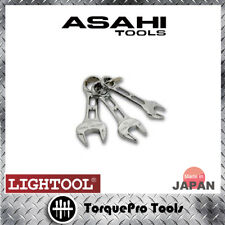 ASH LCWUS30 8-12mm Stubby Metric Combination Wrench Set (Made in Japan)