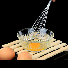 New Stainless Steel Eggbeater Whisk Mixer Egg Cook Tools Kitchen Blender
