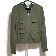 Staring At Stars Urban Outfitters Small Green Military Navy Style Jacket Coat