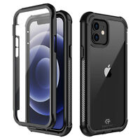 For iPhone 12 Mini 12 Pro Max Case Cover Shockproof Waterproof Screen Protector
