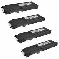 4 331-8429 W8D60 for Dell C3760 BLACK Extra HY Laser Toner Cartridge C3760 C3765