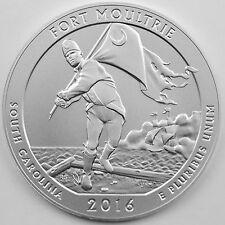 2016-P Fort Moultrie (Ft Sumter Nat'l Monument) 5 oz Silver Specimen, Unsearched