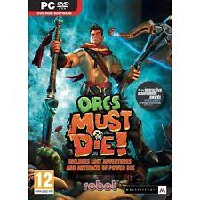 Orcs Must Die (PC DVD) BRAND NEW SEALED