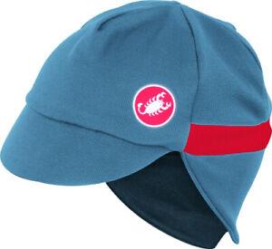 Castelli Risvolto Unisex Winter Cycling Cap Moonlight Blue OSFA