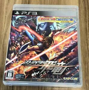 PS3 Strider Hiryu English voice PlayStaion 3 CAPCOM Japan Import