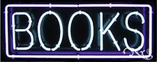 "BRAND NEW ""BOOKS"" 32x13 BORDER REAL NEON SIGN w/CUSTOM OPTIONS 10213"