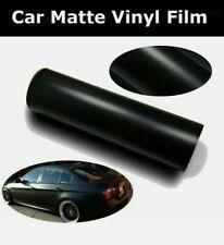 Pellicola Nero Opaco Nera Adesiva 30x152Cm Wrapping Auto Moto Matte Black Vinyl