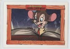 1991 Impel An American Tail: Fievel Goes West #29 Reading About Wylie Card 0b6