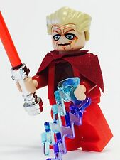 LEGO STAR WARS JEDI EMPEROR CHANCELLOR PALPATINE SIDIOUS SITH W/FORCE LIGHTNING