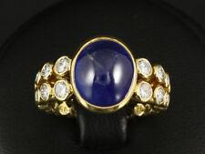 Traumhafter Brillant Saphir Ring 6,46ct (Gravur)  750/- Gelbgold Juwelier Leicht