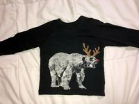 Gap Baby Boys Size 12 18 Month Fall Winter Holiday Shirt Christmas