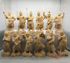 Yakushi Twelve Heavenly Generals 135 mm Tsuge Japanese Statues Wooden Sculpture