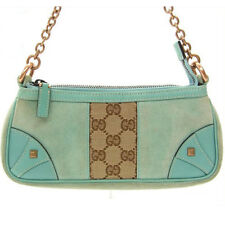 fd03035fb98 Gucci Tote bag G logos Blue Beige Woman Authentic Used C170