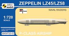 Mark I Models 1/720 Zeppelin P-class LZ45/LZ58 'Naval Raiders' (Imperial German