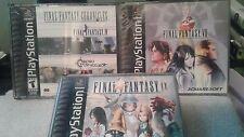 Final Fantasy IX Final Fantasy VII & Chronicles Lot PS1 Playstation Black Label