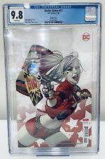 HARLEY QUINN #57 CGC 9.8 JULIAN TEDESCO VARIANT COVER DC COMICS BATMAN