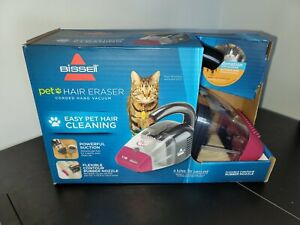 Bissell Pet Hair Eraser #33A1 Corded Hand Held Vacuum Magenta & Gray 4 available