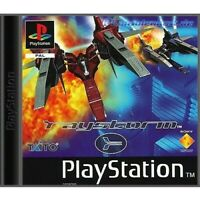PS1 / Sony Playstation 1 Spiel - RayStorm mit OVP sehr guter Zustand